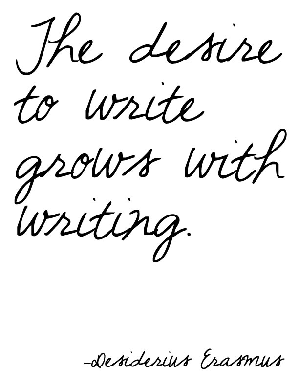 the desire to write