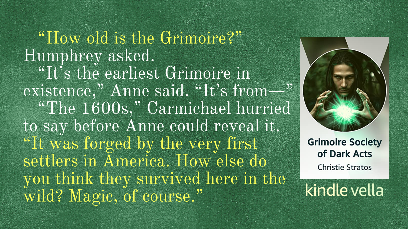 Grimoire Society of Dark Acts Episode 7 Quote